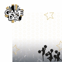 Cheer: Game Day 2 Piece Laser Die Cut Kit