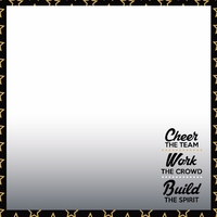 Cheer: We've got spirit 12 x 12 Paper