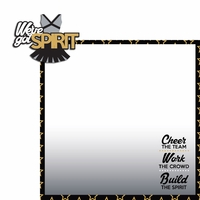Cheer: We've got spirit 2 Piece Laser Die Cut Kit
