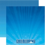 Cheerleading 12 x 12 Double-Sided Cardstock