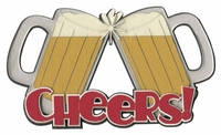 Cheers! Laser Die Cut