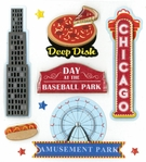CHICAGO DIMENSIONAL STICKER
