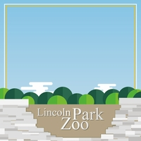 Chicago: Lincoln Park Zoo 12 x 12 Paper