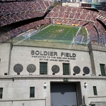 Chicago: Soldier Field 12 x 12 Paper