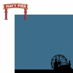 ChiTown: Navy Pier 2 Piece Laser Die Cut Kit