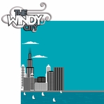 ChiTown: The Windy City  2 Piece Laser Die Cut Kit
