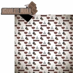 Chocolate Town: Chocolate World 2 Piece Laser Die Cut Kit