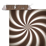 Chocolate Town: Sweet Shopping 2 Piece Laser Die Cut Kit