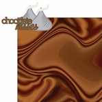Chocolate World: Chocolate Kisses Laser Die Cut 2 Piece Laser Die Cut Kit