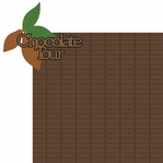 Chocolate World: Chocolate Tour Laser 2 Piece Laser Die Cut Kit