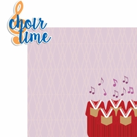 Choir Time 2 Piece Laser Die Cut Kit