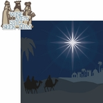 Christ is Born: 3 Wise Men 2 Piece Laser Die Cut Kit