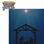 Christ is Born: Manger 2 Piece Laser Die Cut Kit