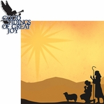 Christ is Born: Shepherds 2 Piece Laser Die Cut Kit
