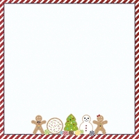 Christmas Baking: All you need 12 x 12 Paper
