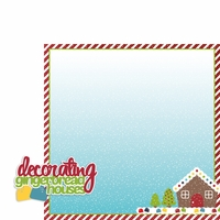 Christmas Baking: Gingerbread 2 Piece Laser Die Cut Kit