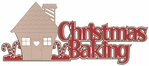 Christmas Baking Laser Die Cut