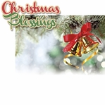 Christmas Blessings: Christmas Blessings 2 Piece Laser Die Cut Kit