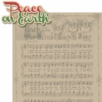 Christmas Blessings: Peace On Earth 2 Piece Laser Die Cut Kit