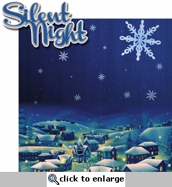 Christmas Blessings: Silent Night 2 Piece Laser Die Cut Kit