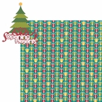 Christmas Cheer: Opening Presents 2 Piece Laser Die Cut Kit