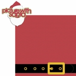 Christmas Cheer: Picture With Santa 2 Piece Laser Die Cut Kit