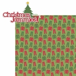 Christmas Jammies 2 Piece Laser Die Cut Kit
