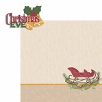Christmas Joy:  Christmas Eve 2 Piece Laser Die Cut Kit
