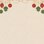 Christmas Joy: Deck the halls  12 x 12 Paper