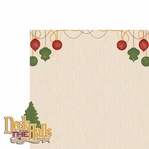 Christmas Joy: Deck the halls  2 Piece Laser Die Cut Kit