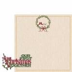 Christmas Joy:  First Christmas 2 Piece Laser Die Cut Kit