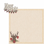 Christmas Joy: Merry and Bright  2 Piece Laser Die Cut Kit