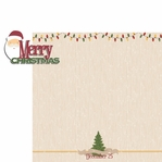 Christmas Joy: Merry Christmas  2 Piece Laser Die Cut Kit