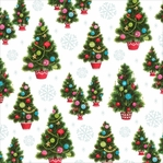 Christmas Kitsch: Christmas Trees 12 x 12 Single-Sided Cardstock