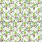 Christmas Kitsch: Holly 12 x 12 Single-Sided Cardstock