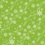 Christmas Kitsch: Ribbon Snowflake 12 x 12 Single-Sided Cardstock