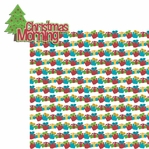 Christmas Memories: Christmas Morning 2 Piece Laser Die Cut Kit