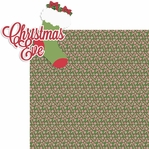 Christmas Time: Christmas Eve 2 Piece Laser Die Cut Kit