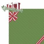 Christmas Time: Christmas Morning 2 Piece Laser Die Cut Kit