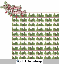 Christmas Time: Christmas Traditions 2 Piece Laser Die Cut Kit