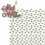 Christmas Time: Silent Night 2 Piece Laser Die Cut Kit