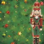 Christmas Time: The Nutcracker 12 x 12 Paper