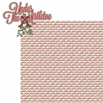 Christmas Time: Under The Mistletoe 2 Piece Laser Die Cut Kit
