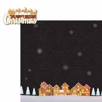 Christmas Traditions: The Night Before 2 Piece Laser Die Cut Kit
