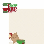 Christmas Treats: Baked with Love 2 Piece Laser Die Cut Kit