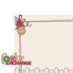 Christmas Treats: Cookie Exchange 2 Piece Laser Die Cut Kit