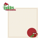 Christmas Treats: Cookie for Santa 2 Piece Laser Die Cut Kit
