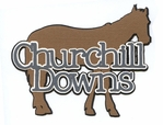 Churchill Downs Laser Die Cut