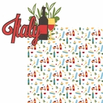 Ciao: Italy 2 Piece Laser Die Cut Kit
