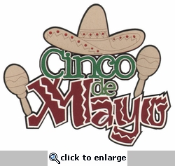 Cinco de Mayo Laser Die Cut